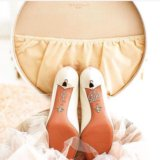 Свадебные наклейки на обувь, подвязка. Фото 2.