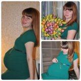 Нарядное платье для беременных. Фото 2. Москва.