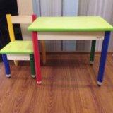 Стол и стул детский. Фото 1.