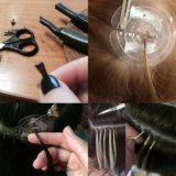 Наращивание волос. Фото 2. Барнаул.