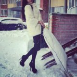 Норковая шуба. Фото 1. Новосибирск.