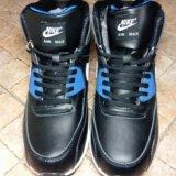 Зимние кроссовки nike air max. Фото 2.