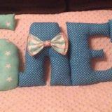 Буковки подушки. Фото 3.