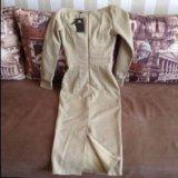 Платье джинсовое длинное. Фото 3.