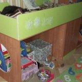 Кровать лестница и матрас. Фото 1.