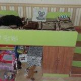 Кровать лестница и матрас. Фото 2.