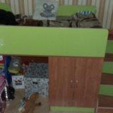 Кровать лестница и матрас. Фото 3.