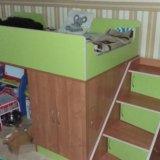 Кровать лестница и матрас. Фото 4.