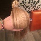 Волосы на капсулах. славянка премиум класса. Фото 4.