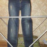 Распродажа новые джинсы на завышенной талии. Фото 2.