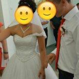 Цена снижена!!свадебное платье)). Фото 4. Домодедово.