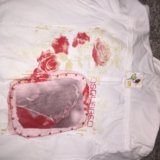 Джинсовая рубашка  дискваред. Фото 2.