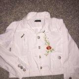 Джинсовая рубашка  дискваред. Фото 1.