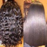Кератиновое выпрямление,ботокс для волос. Фото 4.