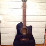 Гитара greg bennett d4ce/tbl. Фото 1.