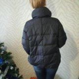 Куртка пуховик б/у. Фото 3.