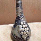 Украшения бутылок , ваз итд. Фото 1.