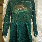 Продам новое шикарное, кружевное платье. Фото 1.