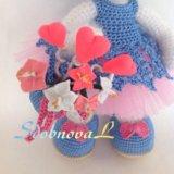 Зайка валентинка. Фото 4.