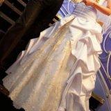 Свадебное платье белое золото. Фото 3. Санкт-Петербург.