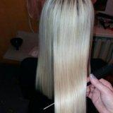 Кератиновое выпрямление волос. Фото 2. Самара.