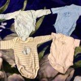 Вещи на новорожденного 0 -3 месяца боди комбинезон. Фото 4. Москва.