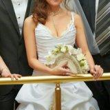 Свадебное платье белое золото. Фото 4. Санкт-Петербург.