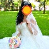 Красивое и счастливое свадебное платье!!. Фото 4. Ростов-на-Дону.