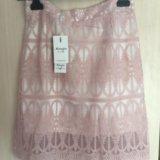 Новая юбка розового цвета. Фото 1.
