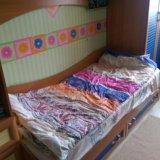 Детская кровать с орт. матрасом и шкафом(есть сини. Фото 2.