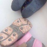 Сапожки/туфли р.26. Фото 3.