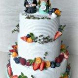 Свадебные торты. Фото 1.