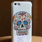 "Чехол на iphone 5c ""череп"". Фото 1."