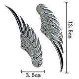 Крылышки металлические хромированные. Фото 2.