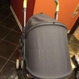 Прогулочная коляска-трость happy baby cindy grey. Фото 4. Москва.