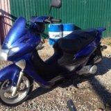 Макси скутор мопед 150куб. Фото 2. Краснодар.