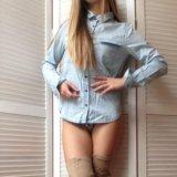 Джинсовая рубашка. Фото 2. Санкт-Петербург.