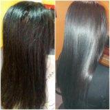 Кератиновое выпрямление волос. Фото 1. Самара.