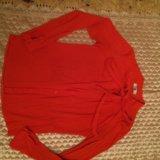 Рубашка ярко караловая. Фото 3.