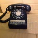 Ретро телефон дисковый пр-во сша-канада 1964 год. Фото 2.