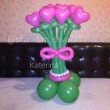 Букеты из воздушных шаров. Фото 1. Москва.