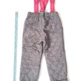 Новые утеплённые брюки, рост 98-104 см. Фото 2.
