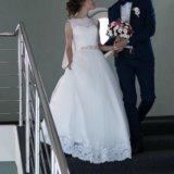 Свадебное платье. Фото 3. Омск.
