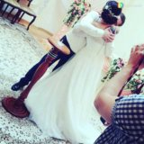Свадебное платье ania со шлейфом. Фото 3.