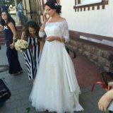 Свадебное платье ania со шлейфом. Фото 4.