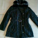 Пальто женское новое на меху. Фото 2. Видное.