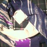 Шейный шарфик+ браслет. Фото 2.