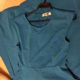 Голубое платье. Фото 3.