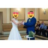 Свадебное платье + корона ручной работы!+ бонус!. Фото 4.
