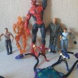 Человек-паук, роботы,человек-факел. Фото 1.